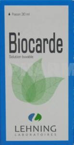 Biocarde, solution buvable