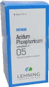 Acidum phosphoricum complexe n°5, solution buvable en gouttes