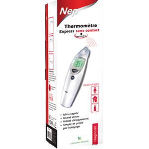 Thermomètre express - embout flexible - spécial famille - 3 secondes