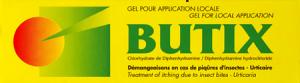 Butix, gel pour application locale