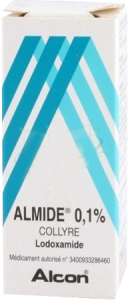 Almide 0,1%, collyre