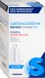Carbocisteine sandoz conseil 5% adultes sans sucre, solution buvable édulcorée à la saccharine sodique